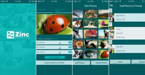 ZincNow – An Event Photo Sharing iOS App