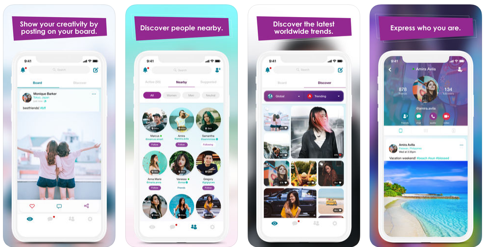 create a photo sharing app like Eyesup