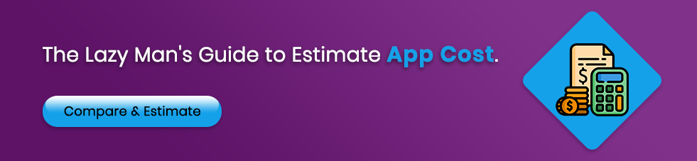 how much does it cost to make an app cta