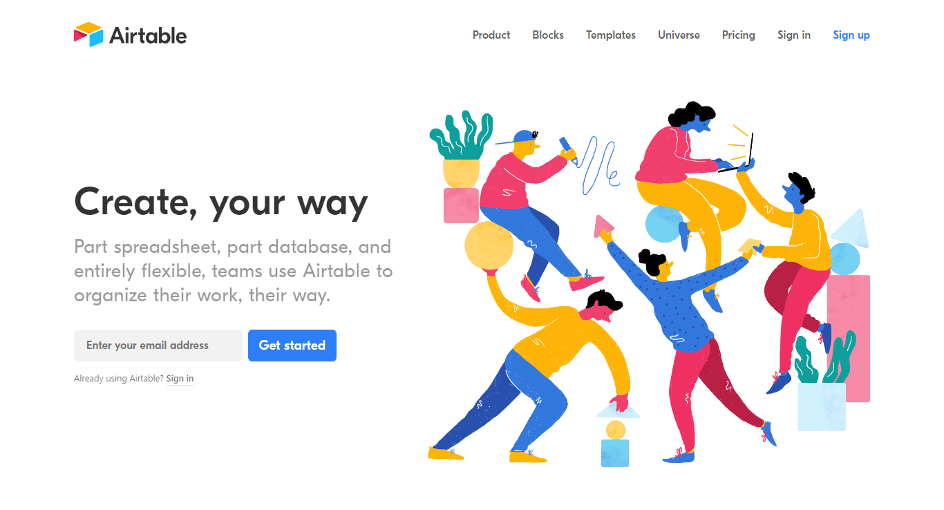web design trends 2019 airtable