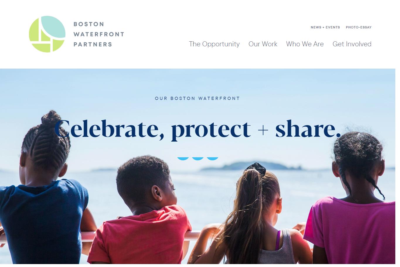 web design trends 2019 boston waterfront