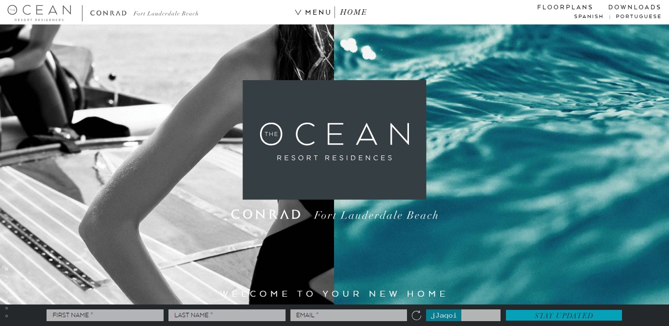 web design trends 2019 Ocean