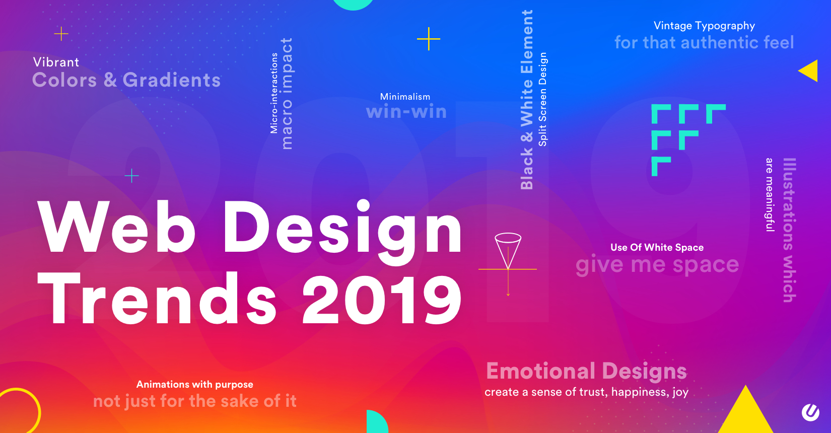 Top 20 Web Design Trends 2019 So Innovative That You Can T Ignore