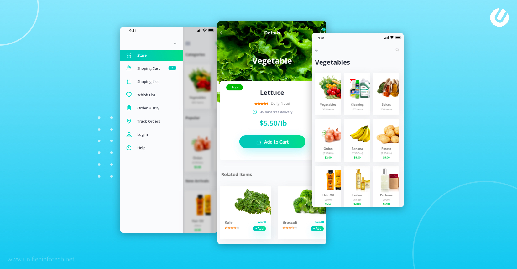 how to build a grocery app with best UI UX