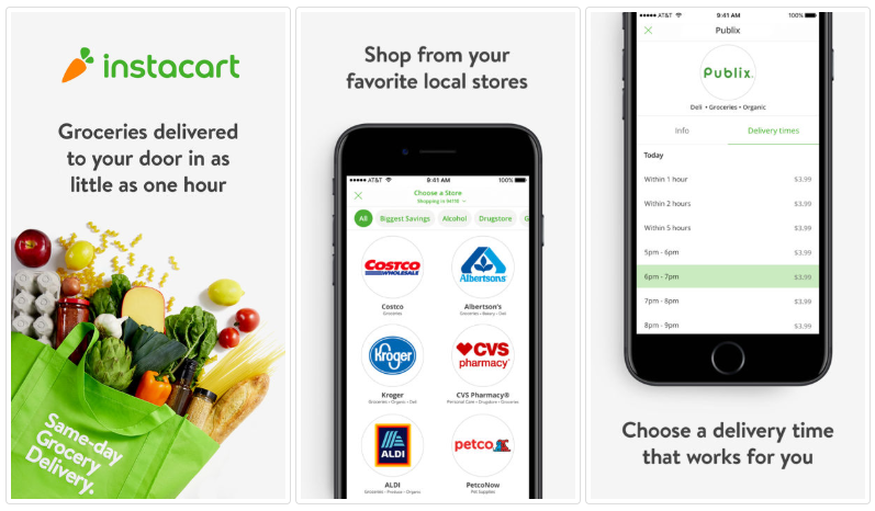 how to build a grocery app like instacart