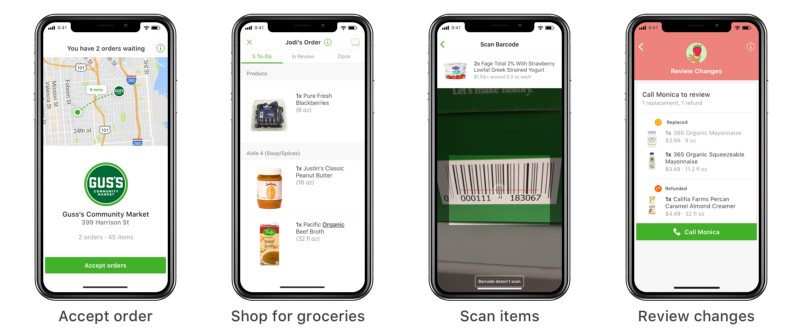 how to build a grocery app for shoppers