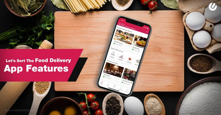 Features of On Demand Food Delivery Apps