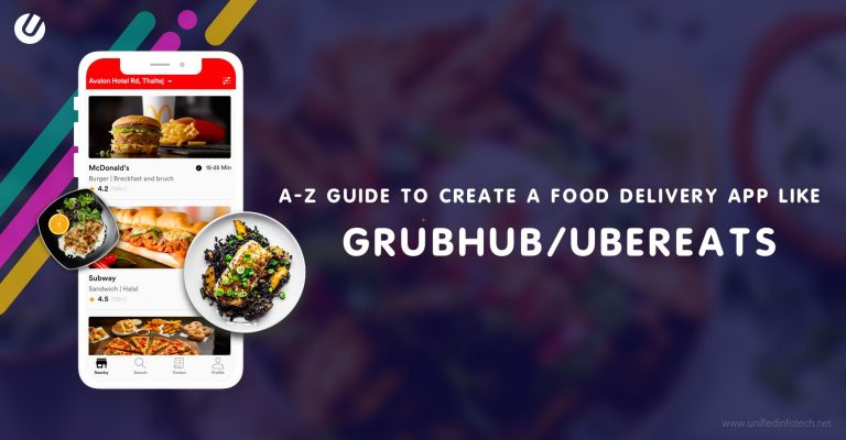 how to make a food delivery app