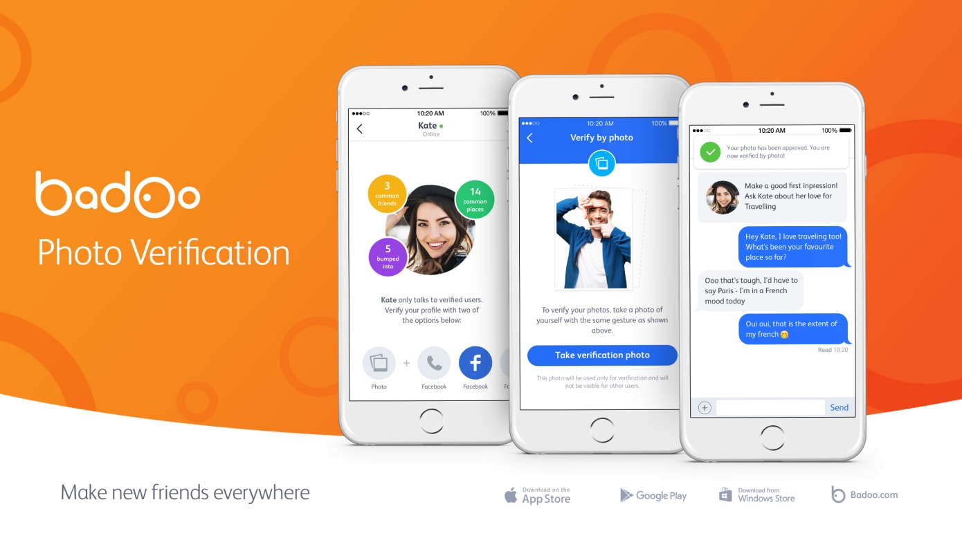 make a dating app like Badoo with best security