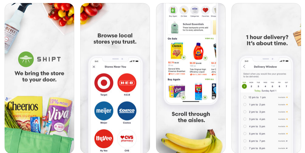 how to build a grocery app like Shipt