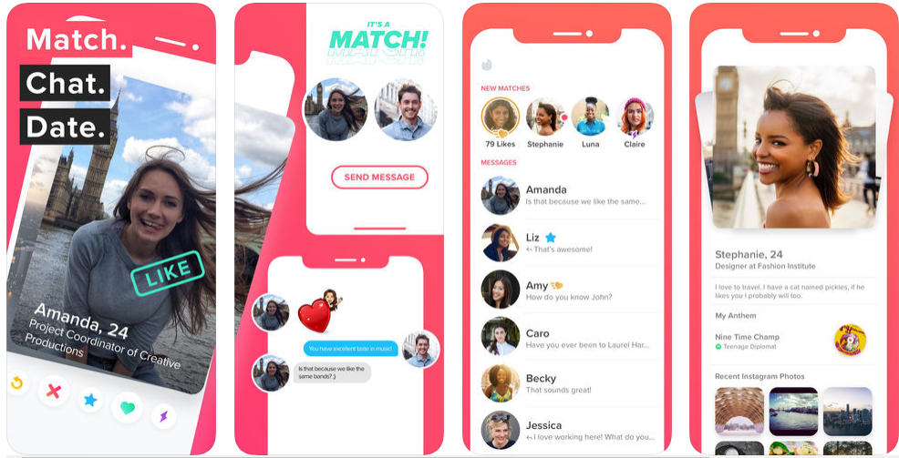 how to create a dating app like Tinder