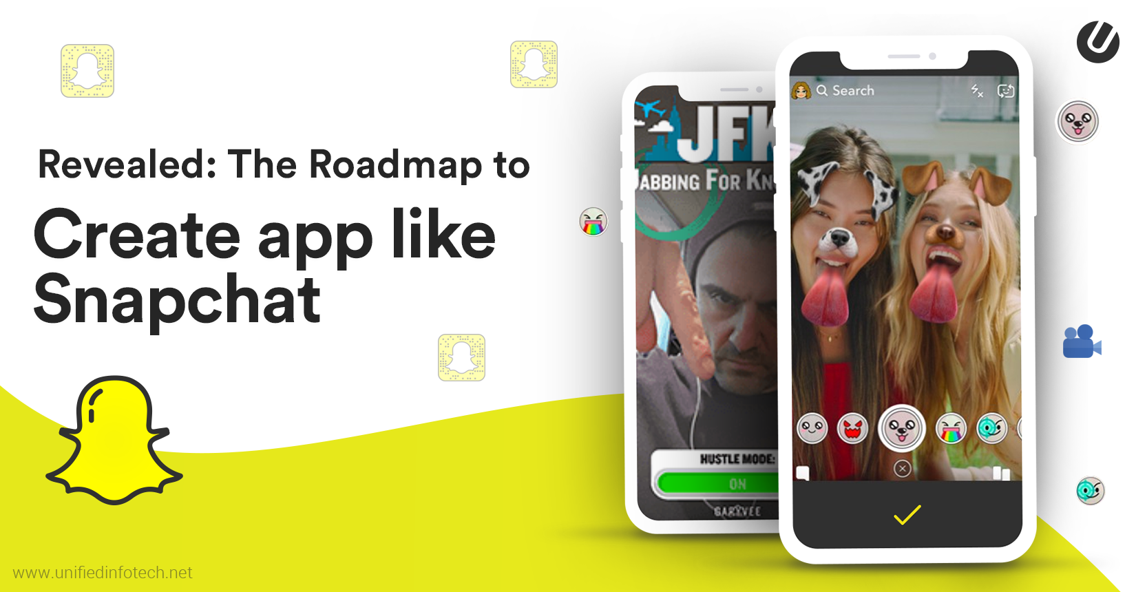 How to make an app like snapchat complete guide