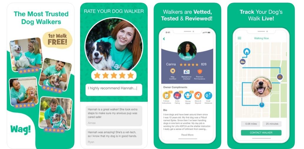 on demand dog walking app development like Wag