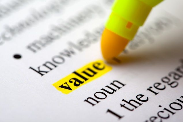 how to make an app with value