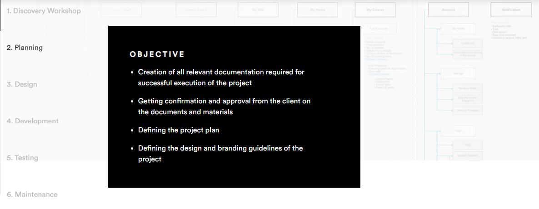 create LMS website