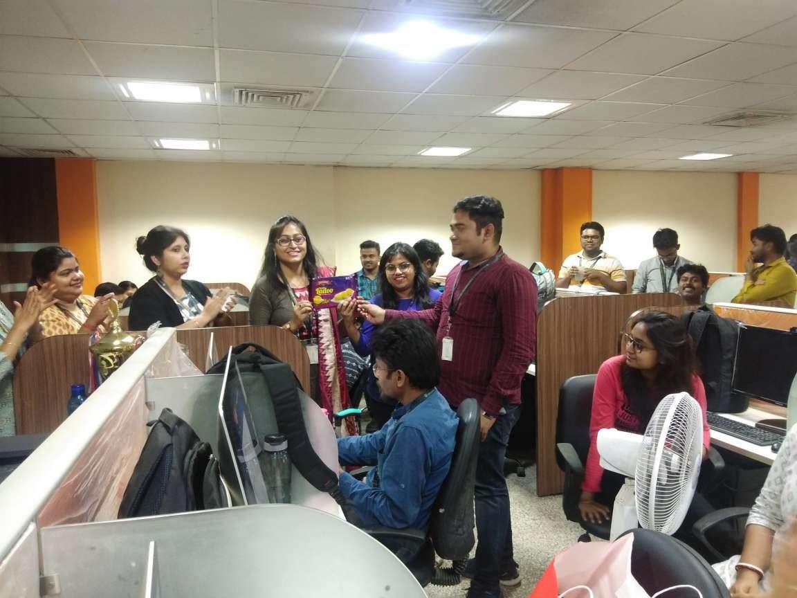 rangoli 3rd prize