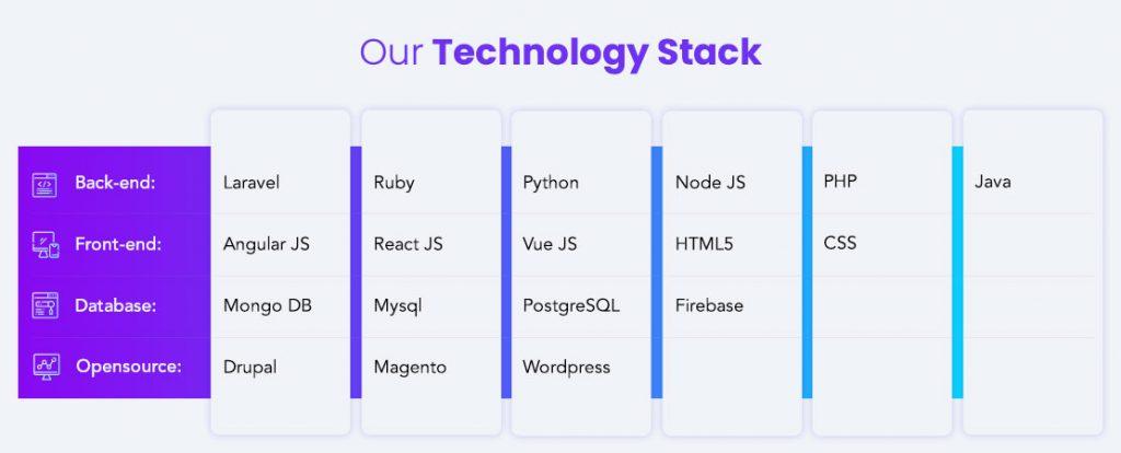 CMS development technologies