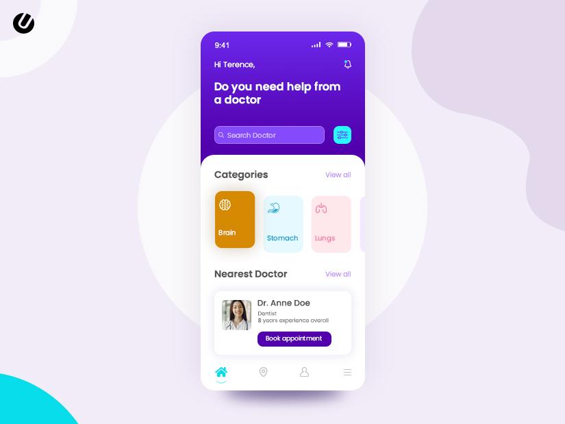 healthcare application development for mobile app