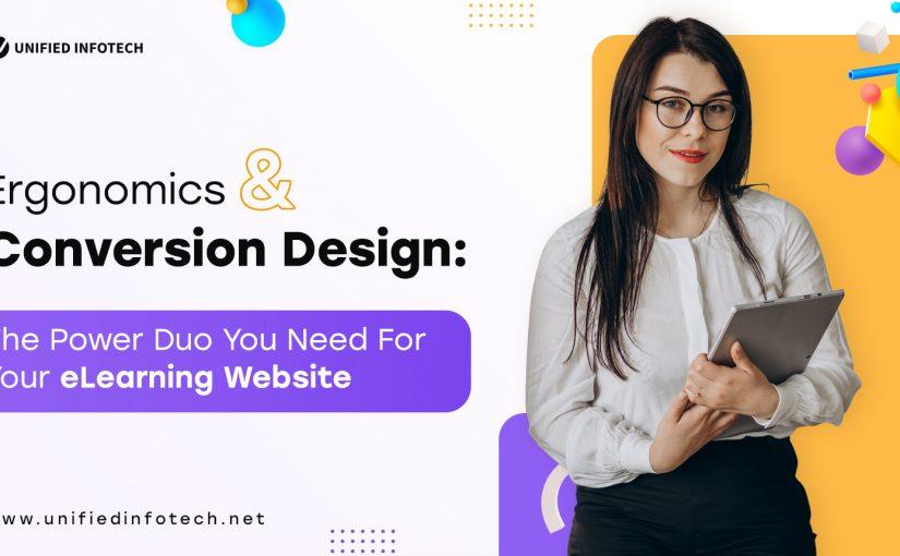 e-learning platform ergonomic design