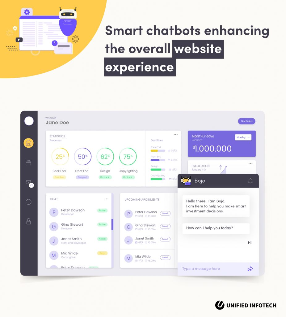 chatbot experience in web 3.0