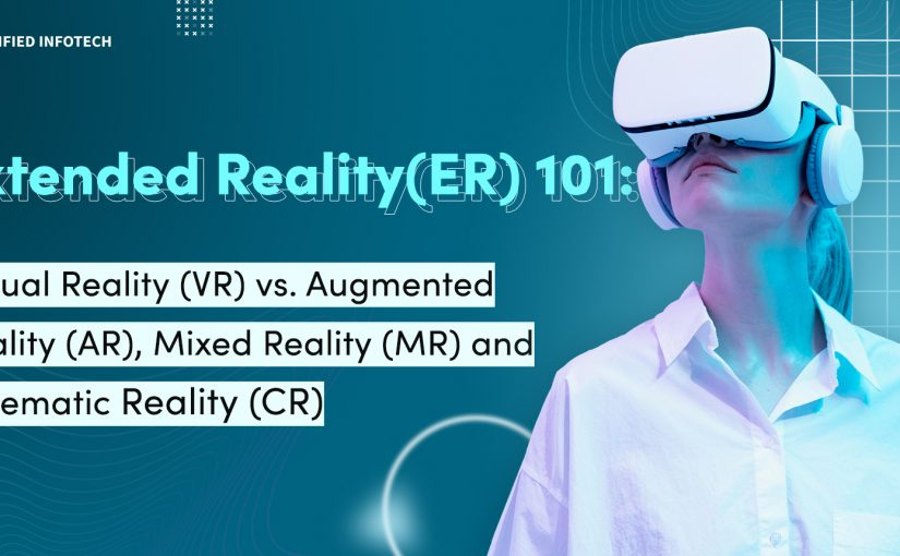 Extended Reality(ER) 101: Virtual Reality (VR) vs. Augmented Reality (AR), Mixed Reality (MR) and Cinematic Reality (CR)