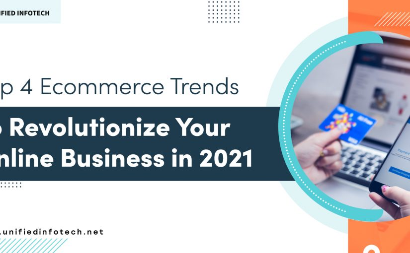4 Ecommerce Future Trends to Accelerate Your Business in 2021