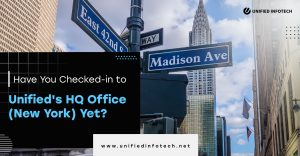 Have You Checked-in to Unified's HQ Office (NYC) Yet?