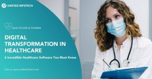 Digital Transformation in Healthcare: 6 Incredible Healthcare Software You Must Know