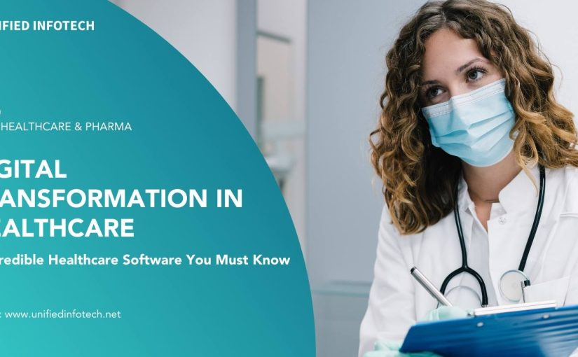Digital Transformation in Healthcare 6 Incredible Healthcare Software You Must Know